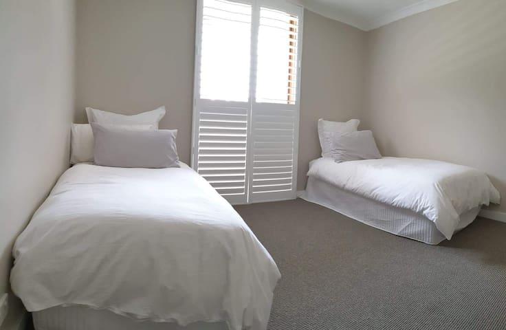 Bedroom 5 - 2 Singles - Ground Floor