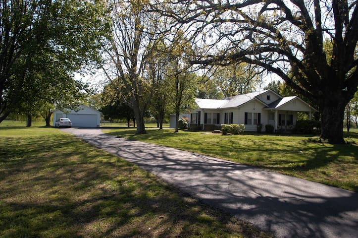 Private Country Home with Free High Speed internet