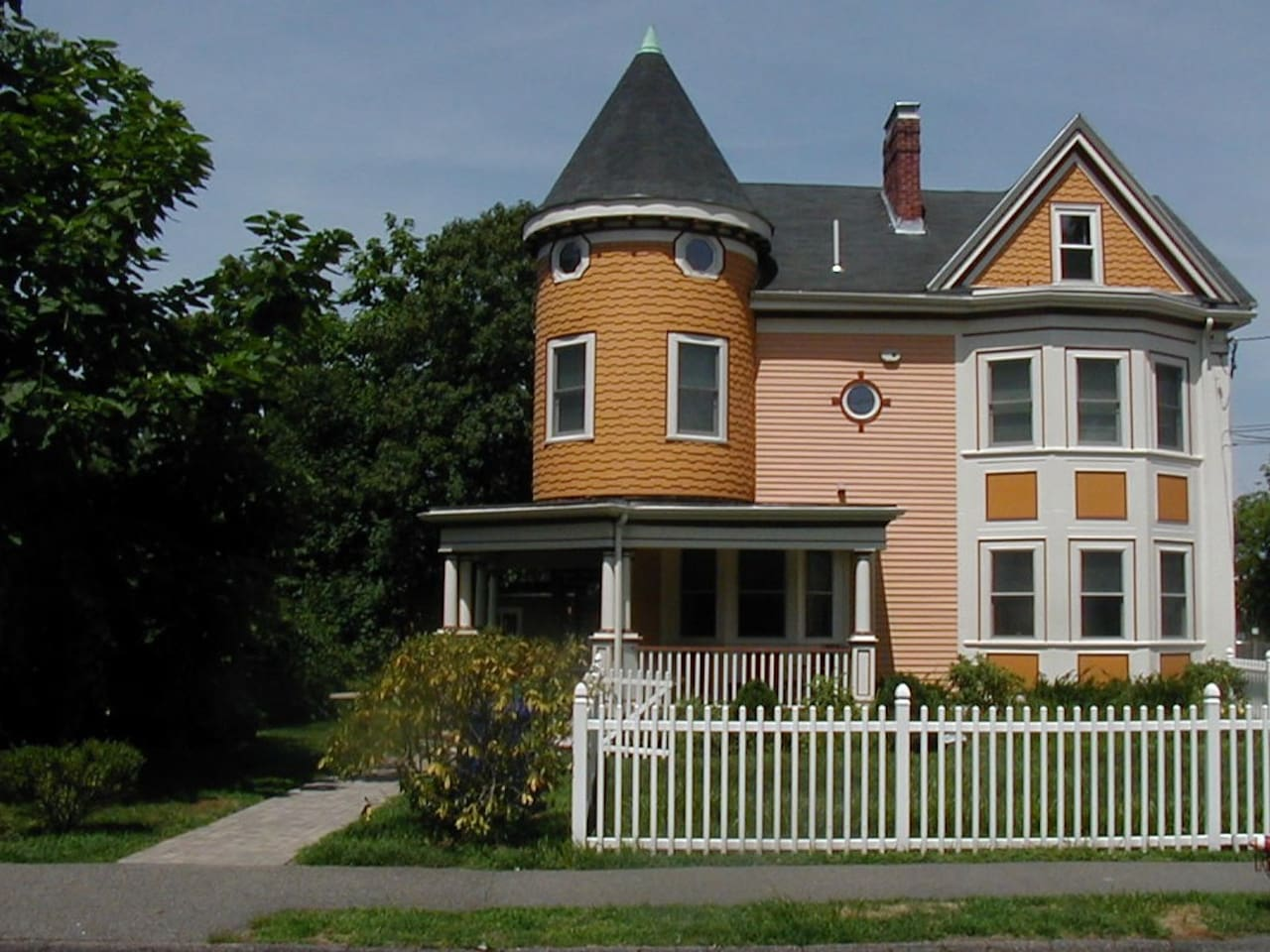 Victorian  is located in the heart of Newtonville!