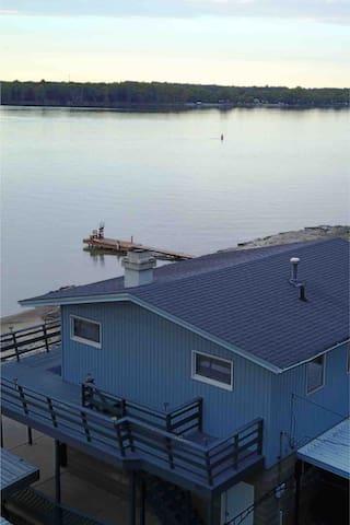 Island House On Mississippi River