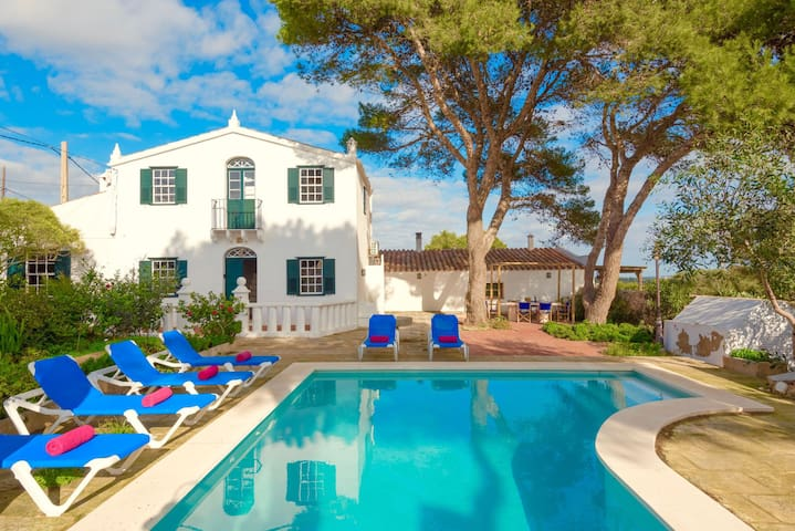Villa Torret - Seaside Villa Rental on Menorca Island