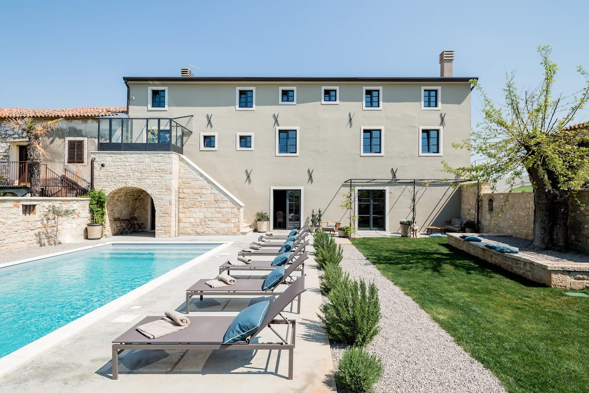 Villa Covri—Award-Winning Property with Adriatic Views