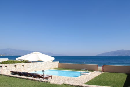 Beach Front Villa with Private Pool V