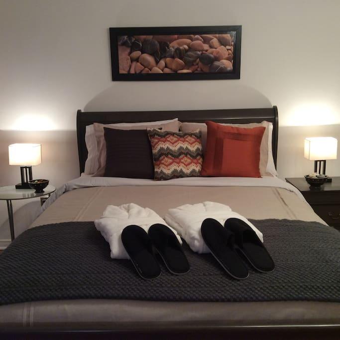 Belles chambres dans une maison chaleureuse chambres d for Chambre d hote montreal