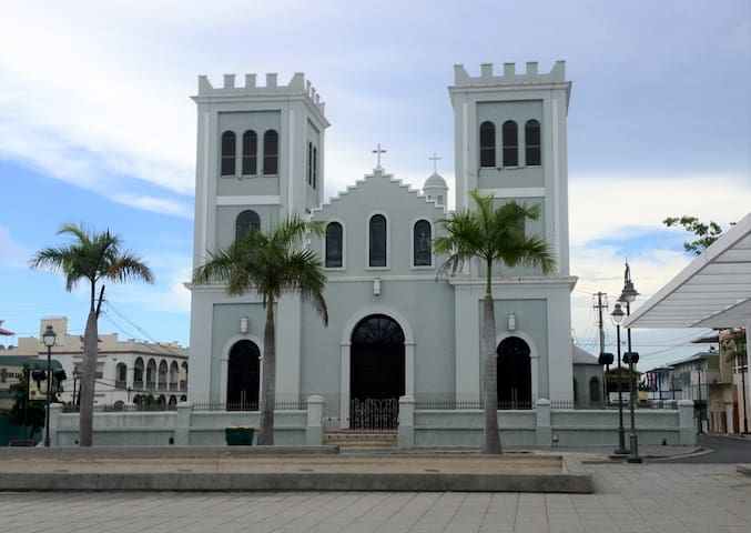 San Antonio de Padua in Plaza of Isabela