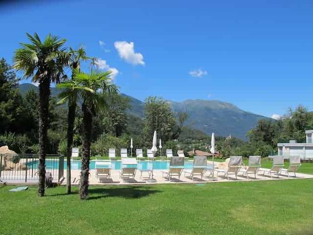 Relax e tranquillità a 10 minuti da Lugano centro - Origlio - Appartement