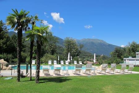 Relax e tranquillità a 10 minuti da Lugano centro - Origlio - Apartamento