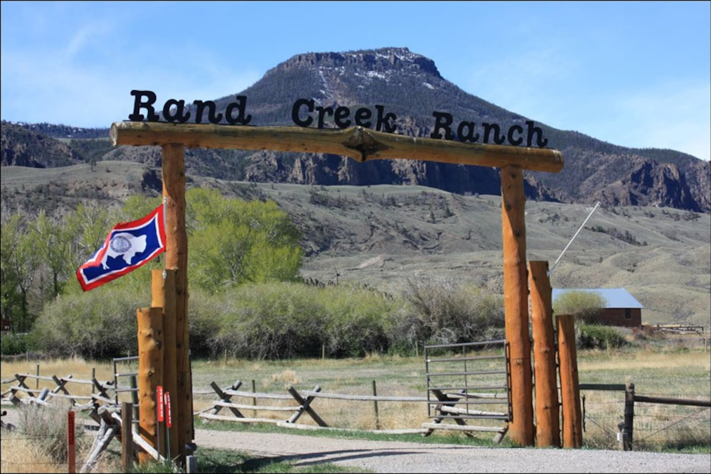 Gate way to the ranch.