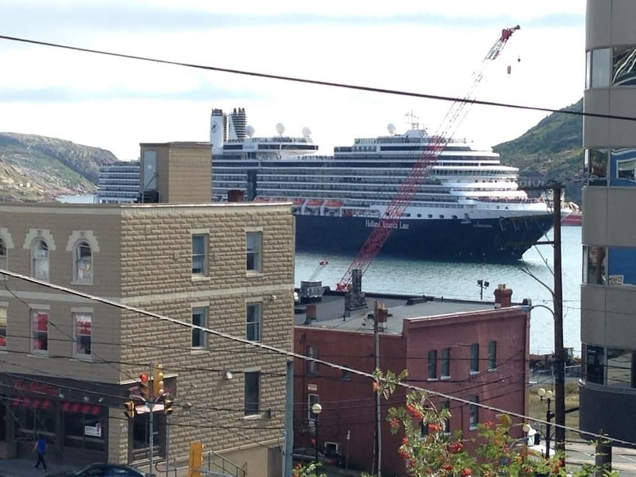 Watch the ships come in through the Narrows.