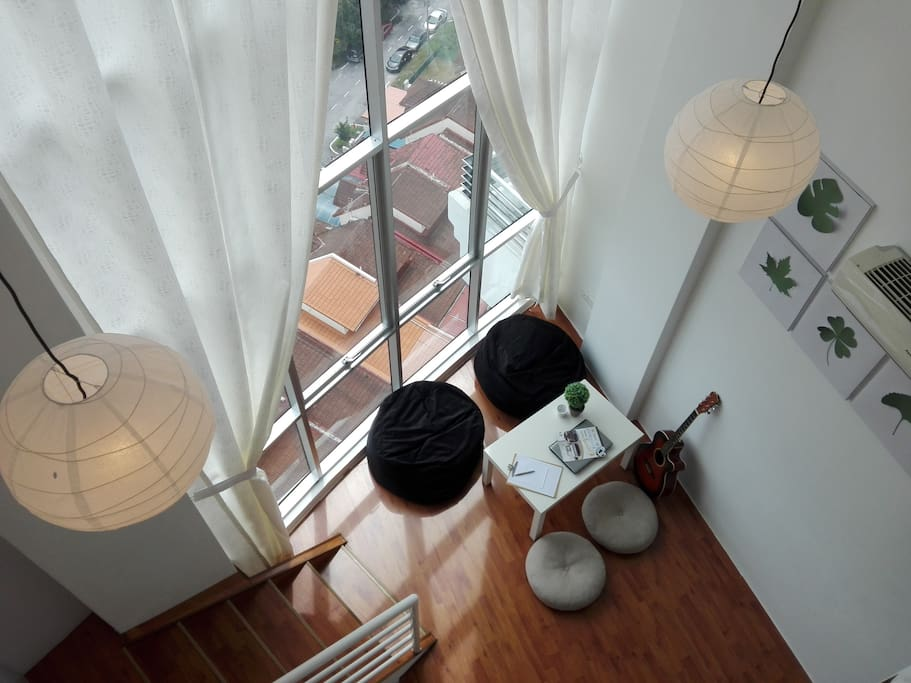 Top View from Upper Level