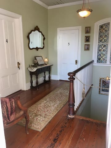 Private suite 5 @ the Historic Charles Adams house