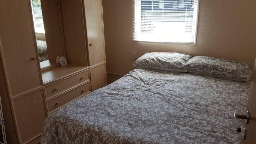 main bedroom double bed