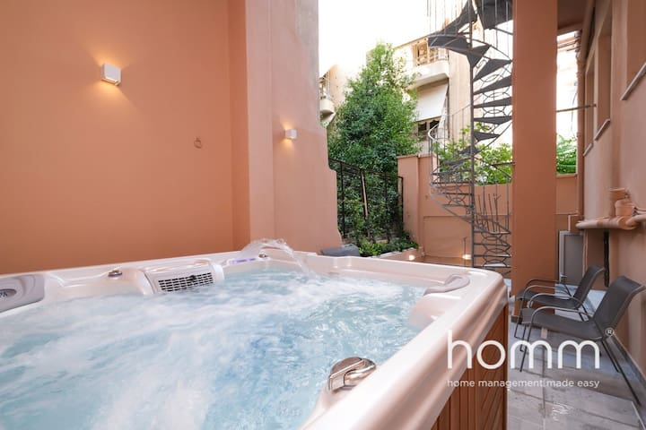 Classic B Apartment with Jacuzzi in Drosopoulou