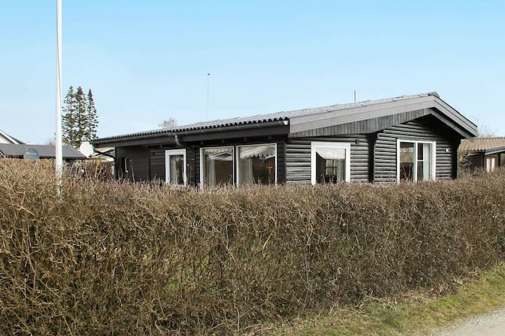 Modern Holiday Home in Karrebæksminde with Barbecue