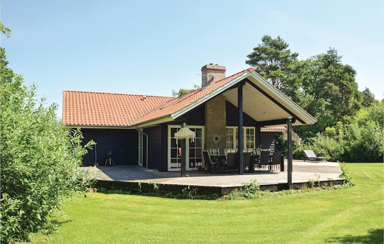 Holiday cottage with 4 bedrooms on 131m² in Tranekær