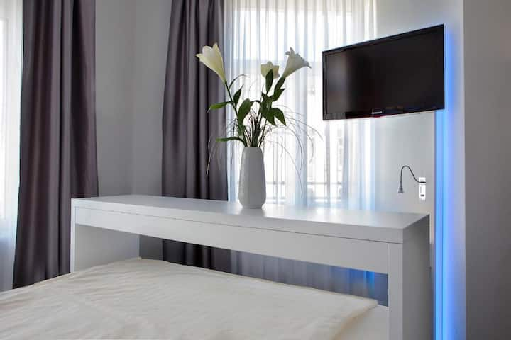 Doppelzimmer im Herzen Frankfurts
