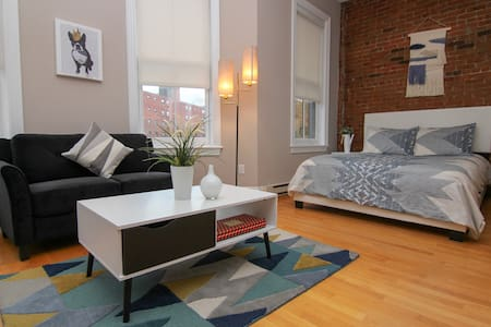 Charming Studio in Boston Brownstone, C.Ave#5