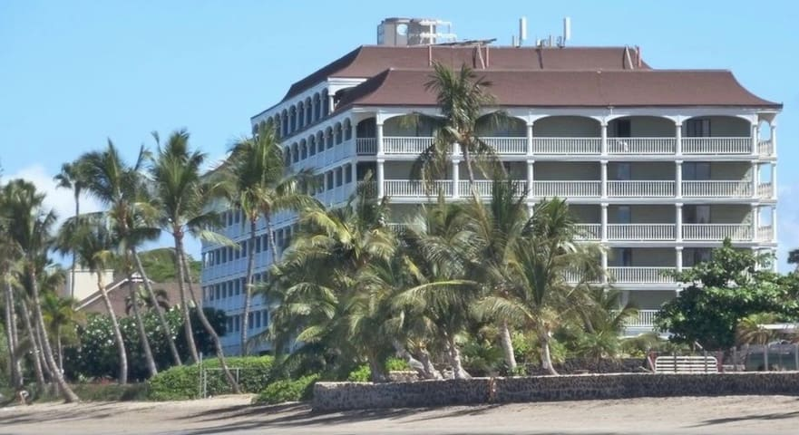 Building from beach
