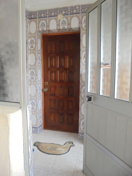 Entrada do Apartamento Apartment Entrance