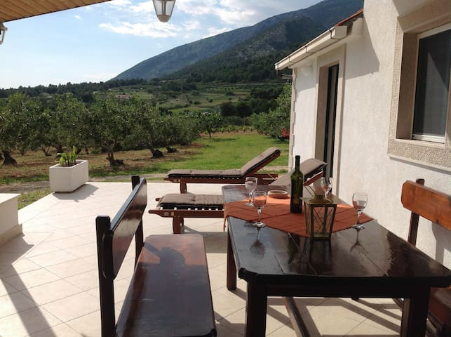 Holiday Home Oliva - Holiday House with Terrace and Sea View