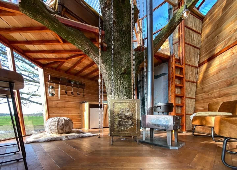 boomhut Airbnb