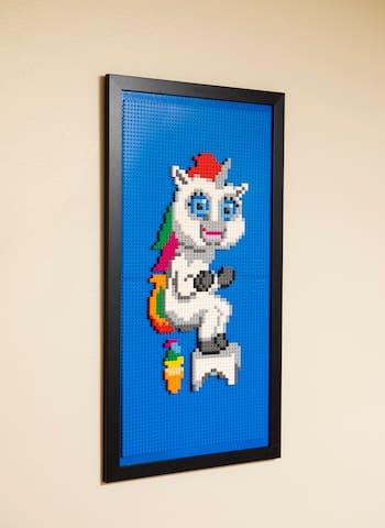 Lego Squatty Potty Unicorn