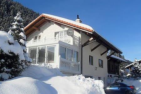 Grosszügiges Ferienhaus im Schwarzsee - Plaffeien - House