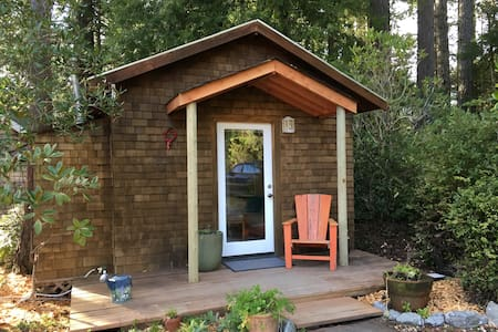 Tiny Cabin in the Redwoods - Mendocino - Hytte