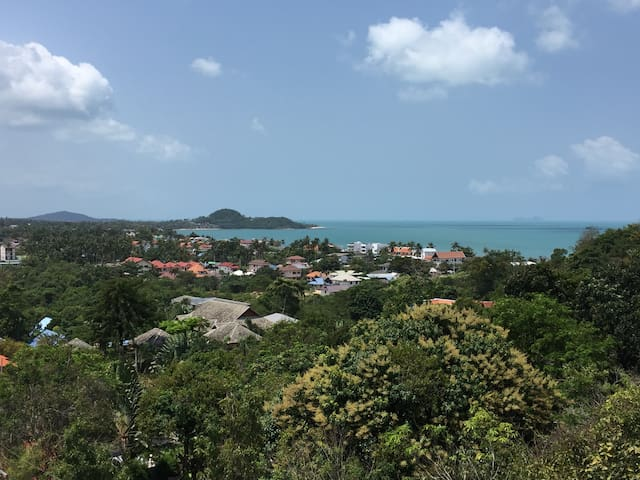 2 Bedroom 2 bath PH Apartment Ocean View,GYM, BBQ - Ko Samui - Apartment