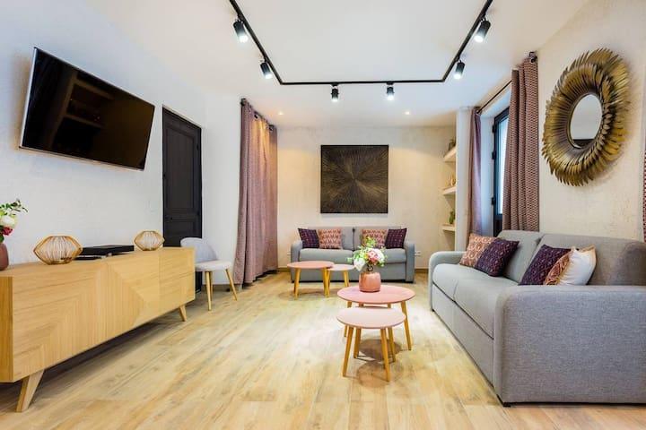 Amazing apartment - 6P- Gambetta/St Fargeau