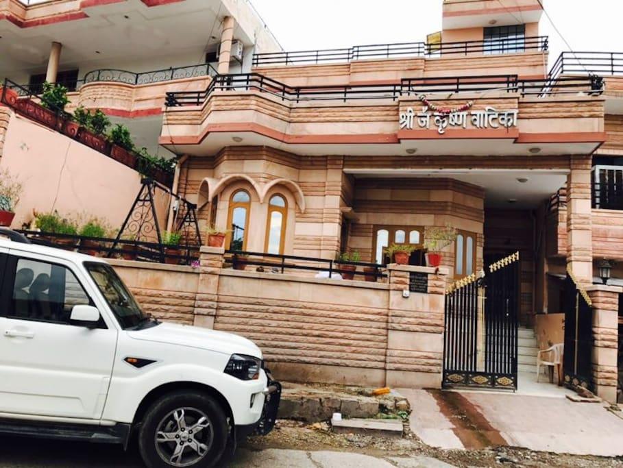 Jai Krishna Vatika Houses For Rent In Jodhpur Rajasthan