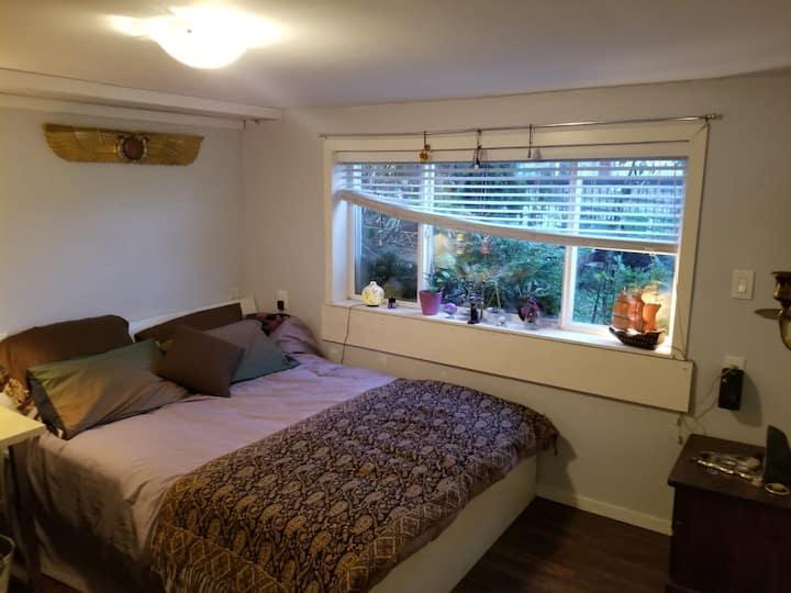 Boho Bedroom near PNE Playland
