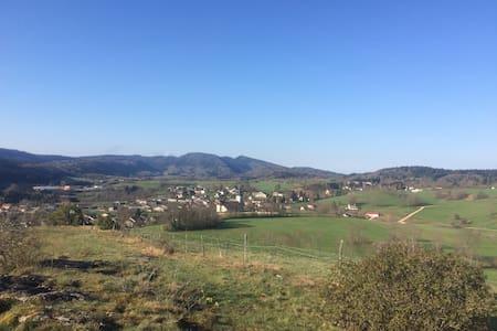 Splendide T3 au cœur du Jura - Viry - Leilighet