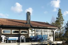 Holiday cottage with 2 bedrooms on 70m² in Birkenes