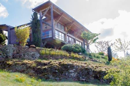 Maison d'architecte, pleine nature - Annonay