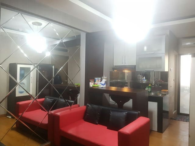 Cozy apartment with city view in Bandung