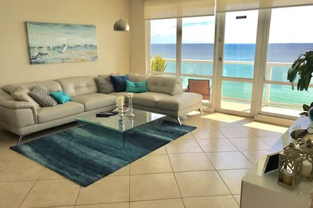 DREAM BLUE Miami Beach Sea View 2BD Free Parking