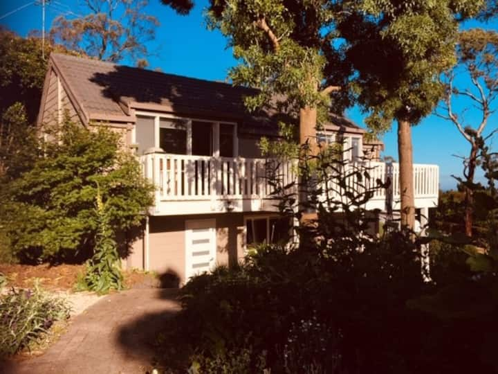 Woodland retreat + Beach Box access +dog friendly