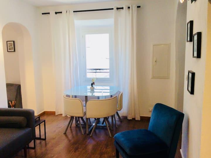 Appartement coquet en plein centre historique