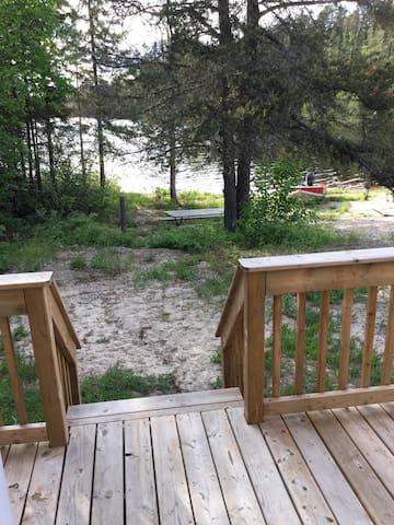 Cabin 4     Lakefront 2 bdrm