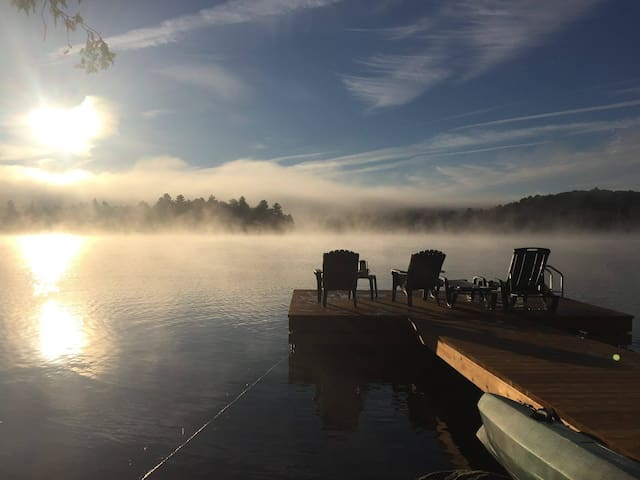 Paradise Lake House: 35-minute drive from Ottawa - Sainte-Cécile-de-Masham - Chatka