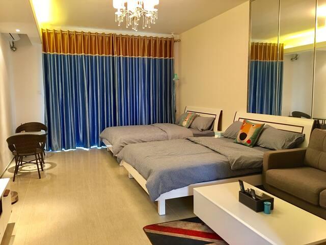 阳江市海陵岛十里银滩果果海边的家度假公寓海景房