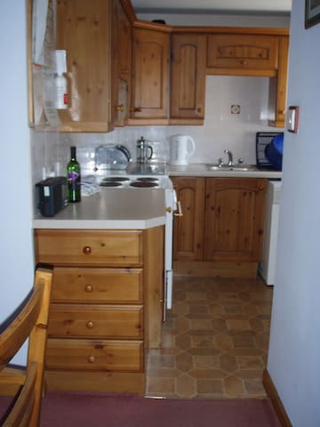 Kitchen Adjoining Dining Room
