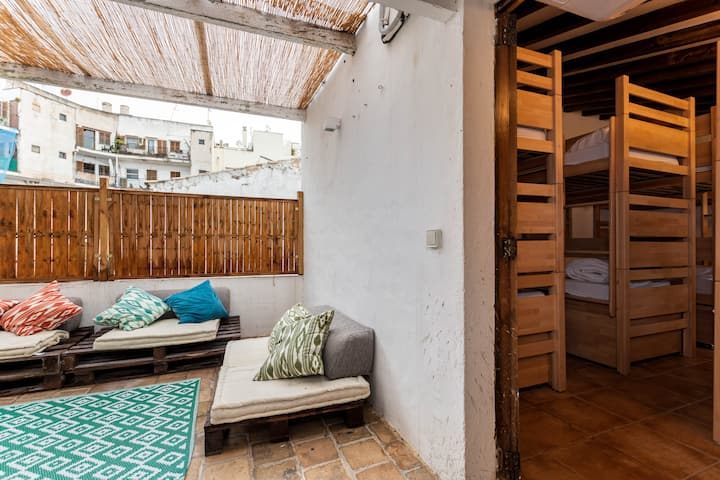 YourHouse Urban Hostel in Santa Catalina, shared mix dorms for up to 4 people