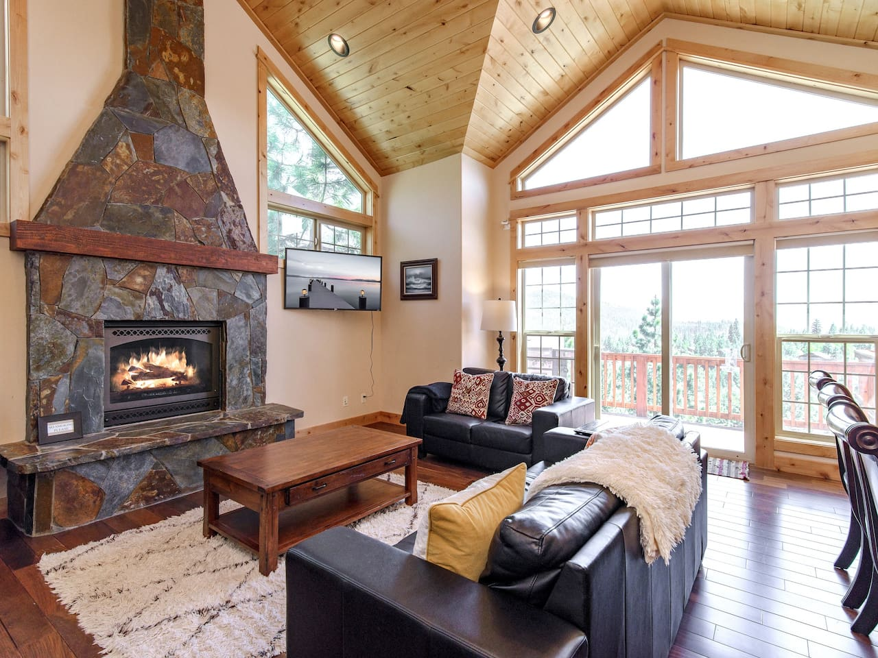 Welcome to Truckee! Your rental is professionally managed by TurnKey Vacation Rentals.