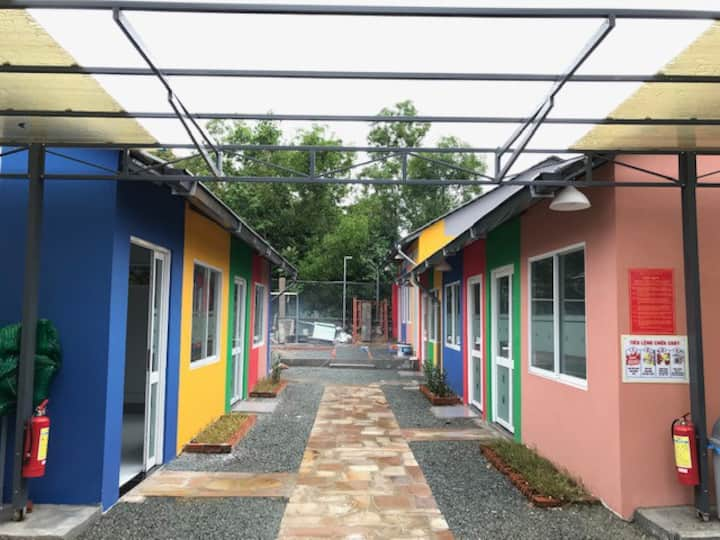 Colorfulhomestay Garden house 5