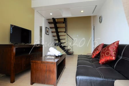 High-rise 62-sqm 2BR 2TB Loft/Condo - Quezon City