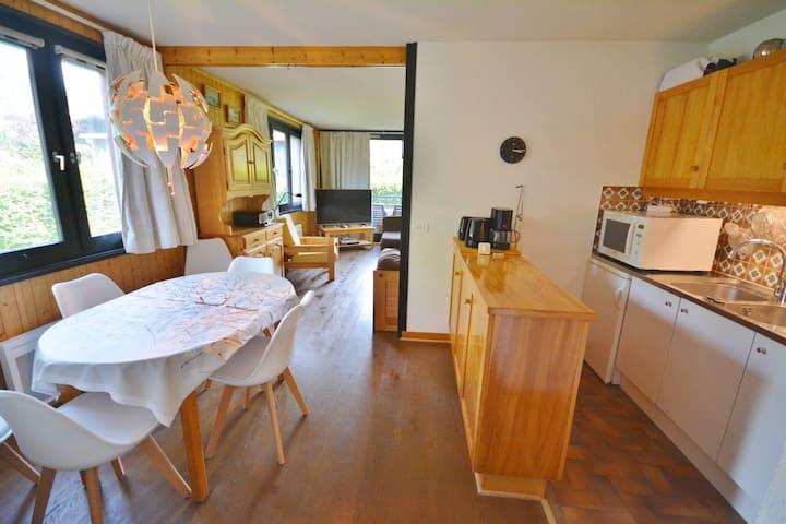 VUARGNES - 4 pers. 109  - T2 Appartement lumineux avec terrasse