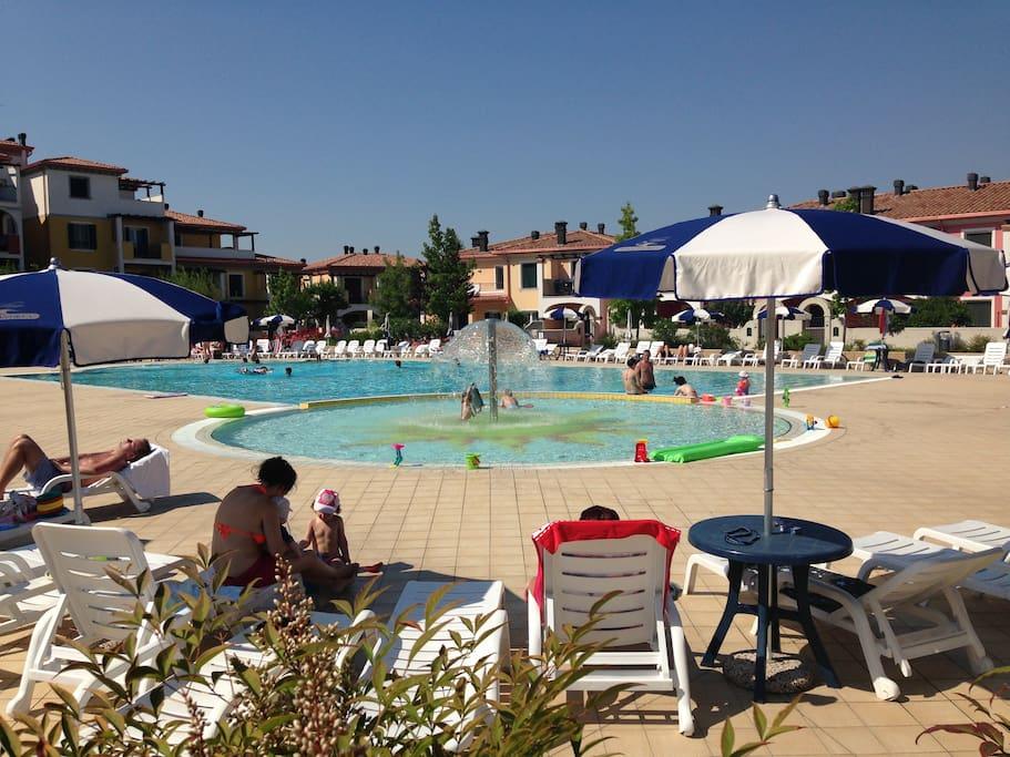 zona piscine solarium