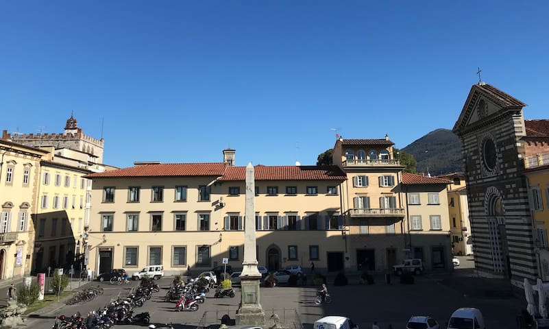 A new property in the historical center of Prato